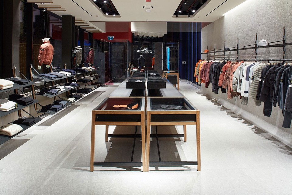 Take a Look Inside Stone Island's First Store in Canada