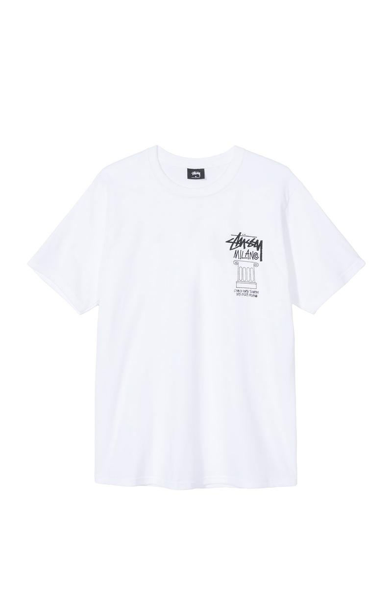 stussy milano chapter store milan retail limited edition t shirts italy