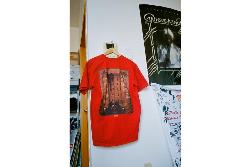 Martin Wong x Supreme Collection T-Shirt Red