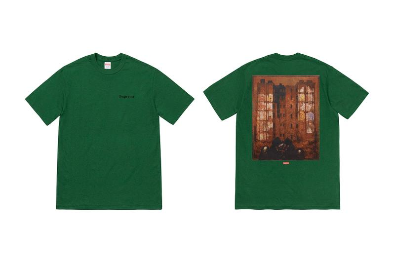 Martin Wong x Supreme Collection T-Shirt Green