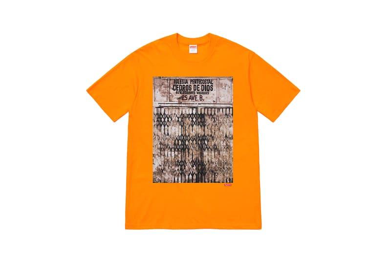 Martin Wong x Supreme Collection T-Shirt Orange