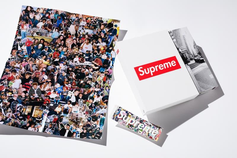 supreme new york monograph history phaidon book poster sticker