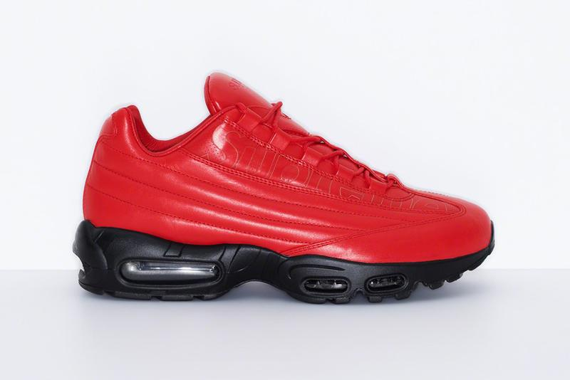 Supreme x Nike Air Max 95 Lux Red