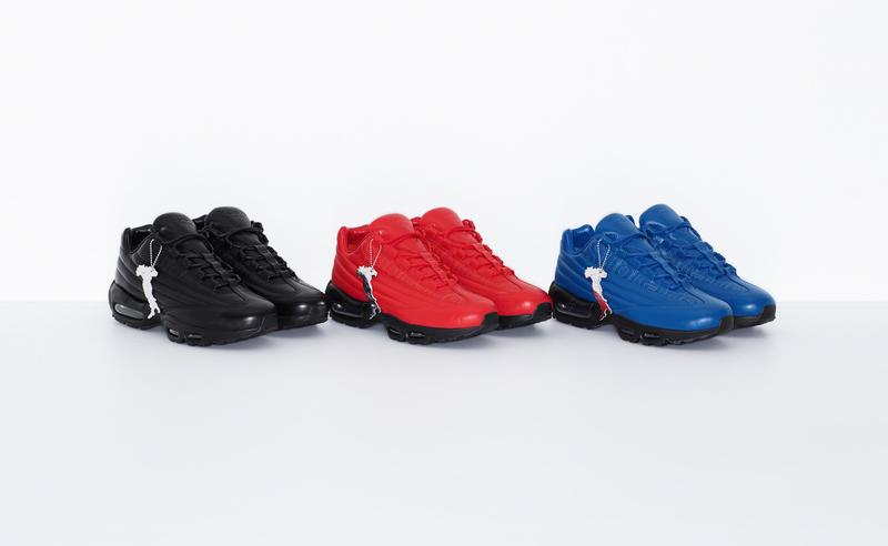 Supreme x Nike Air Max 95 Lux Black Red Blue