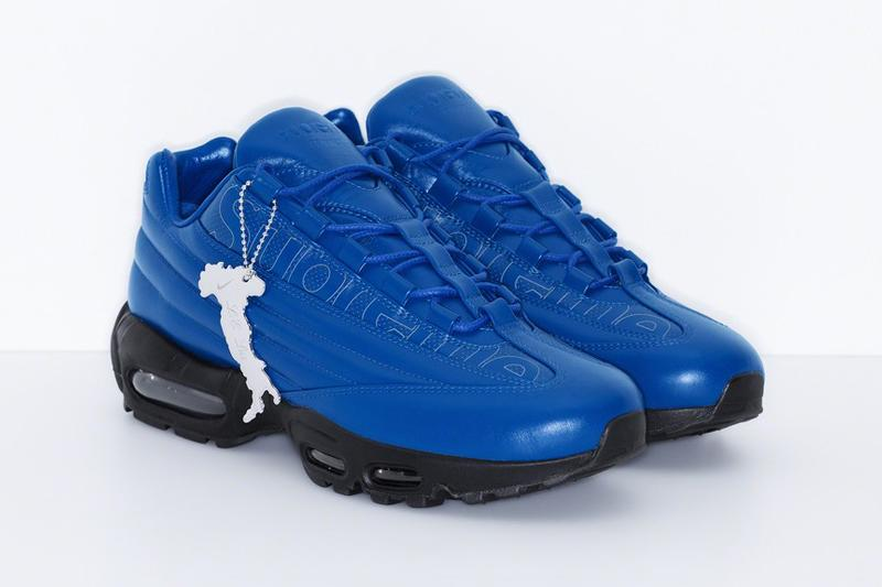 Supreme x Nike Air Max 95 Lux Blue