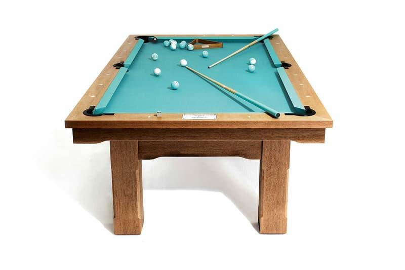 Tiffany & Co. Pool Table Blatt Billiards Blue