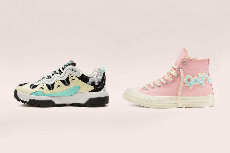 GOLF le FLEUR* Converse Chuck 70 Pastel Pink Gianno Chunky Sneakers Trainers Tyler the Creator Golf Wang Travis Scott Nike Air Force 1 Cactus Jack Maison Dior CheckNDior homeware where to buy