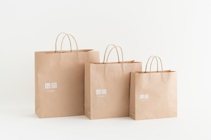 uniqlo charity water sustainable shopping bag ecofriendly environment fast retailing