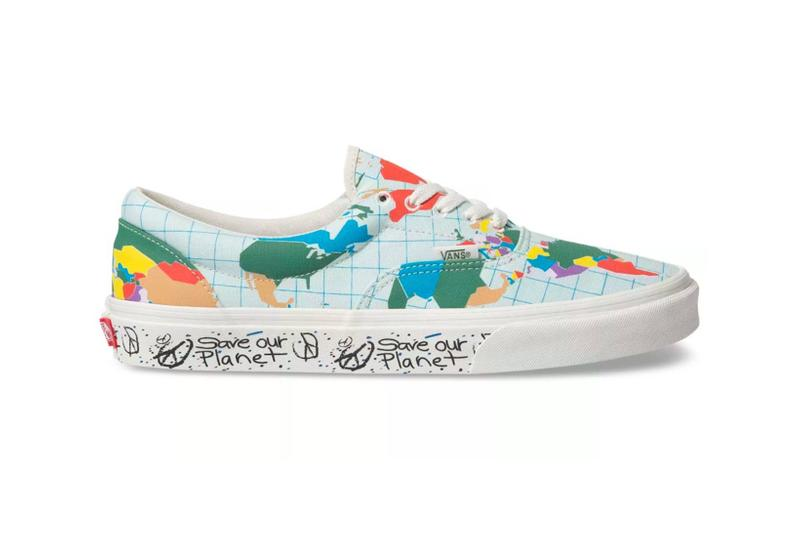 vans save our planet collection era sneakers sustainability shoes footwear white