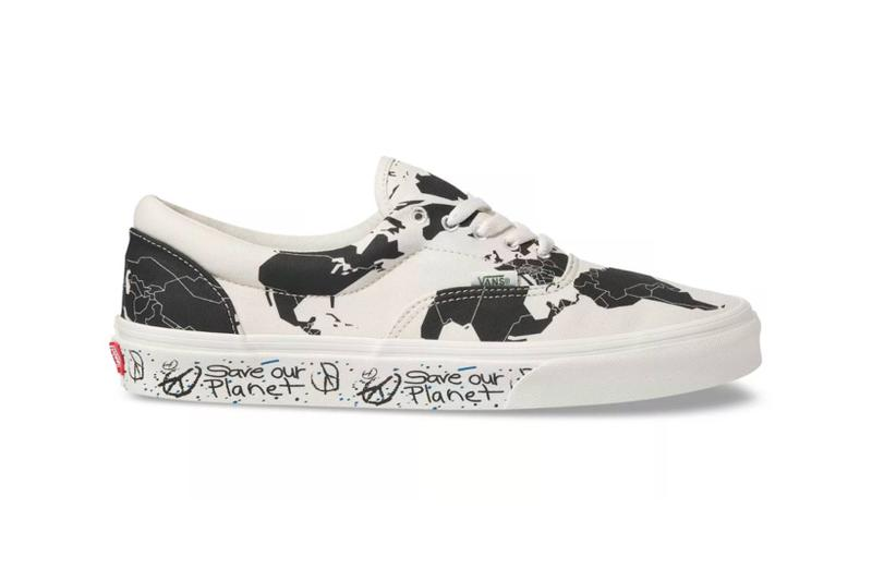 vans save our planet collection era sneakers sustainability shoes footwear black white