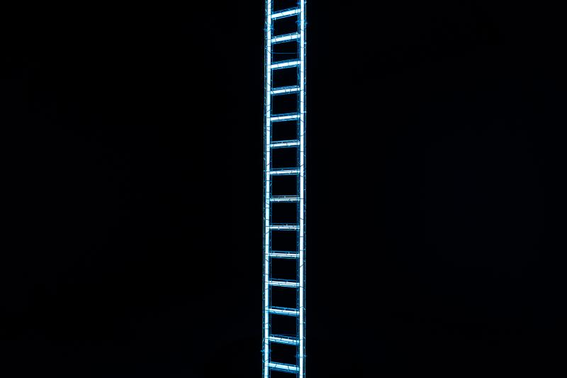 "Yayoi Kusama ""EVERY DAY I PRAY FOR LOVE"" 'Ladder to Heaven'"