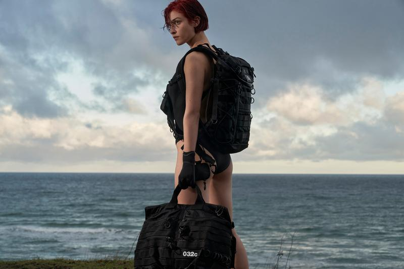 032c x adidas Sneaker Bag Collection Campaign Duffel Backpack