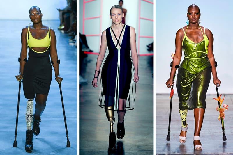 Chromat Adaptive Fashion Design Clothing Swimwear Runway Show New York Fashion Week Lauren Wasser