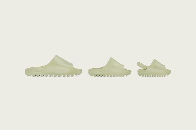 adidas kanye west yeezy slide slippers bone resin off white