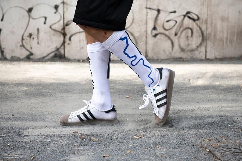 adidas skateboarding blondey mccoy superstar sneaker transparent shoes footwear sneakerhead white brown