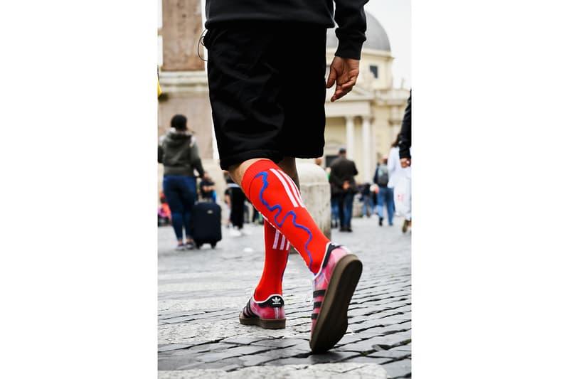 adidas skateboarding blondey mccoy superstar sneaker skateboard red socks shoes footwear