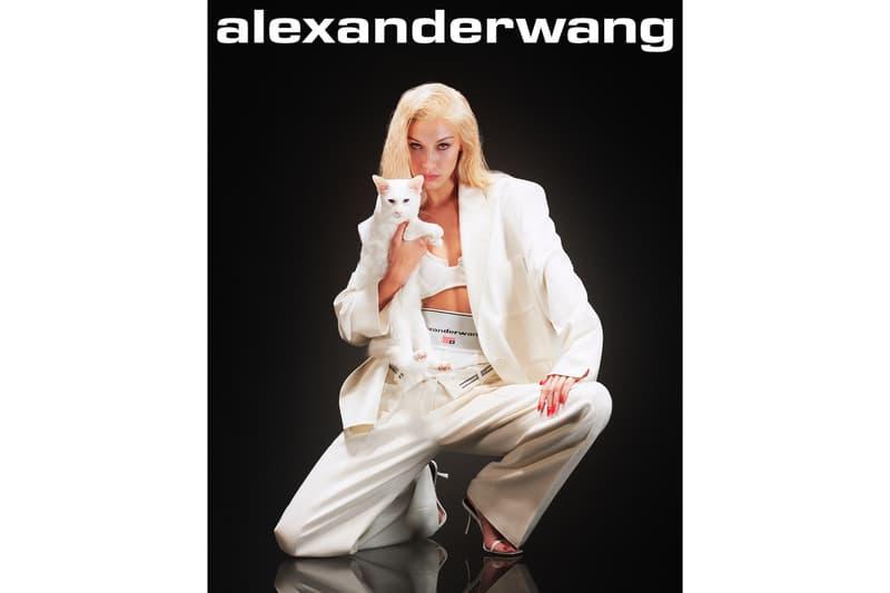 Alexander Wang Collection 1 Bella Hadid Campaign New York Statue of Liberty Ad Brianna Capozzi