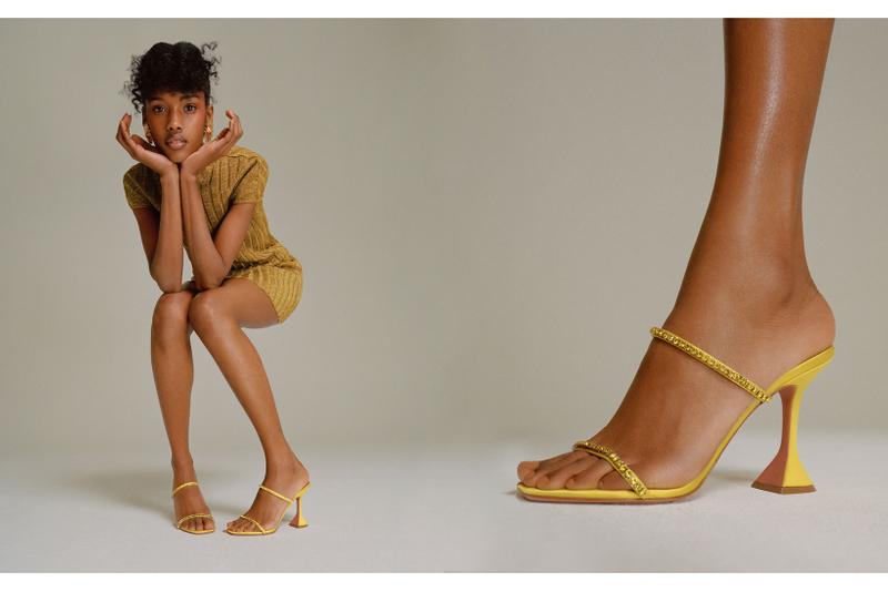 amina muaddi drop 1 spring summer 2020 ss20 collection heels sandals pvc shoes fenty rihanna