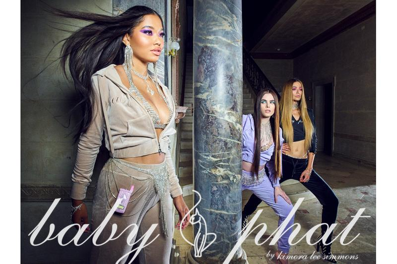 baby phat kimora lee ming aoki simmons holiday collection campaign