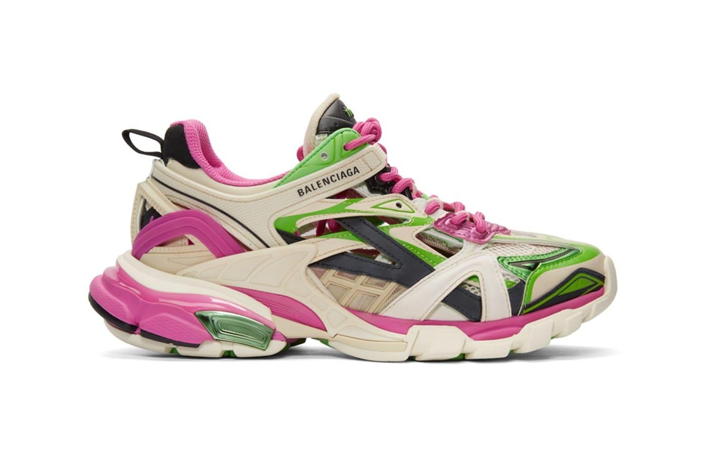 Balenciaga Track.2 Sneaker Pink White