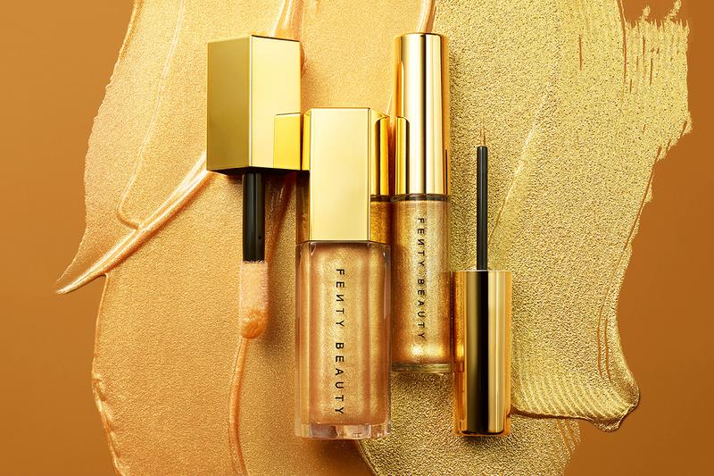 Fenty Beauty Rihanna Trophy Wife Life Makeup Set Skincare Products Lip Gloss Bomb