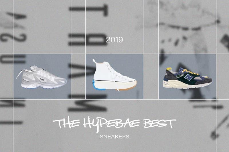 sneakers jw anderson converse run star hike white reebok misbhv daytona aime leon dore new balance 990