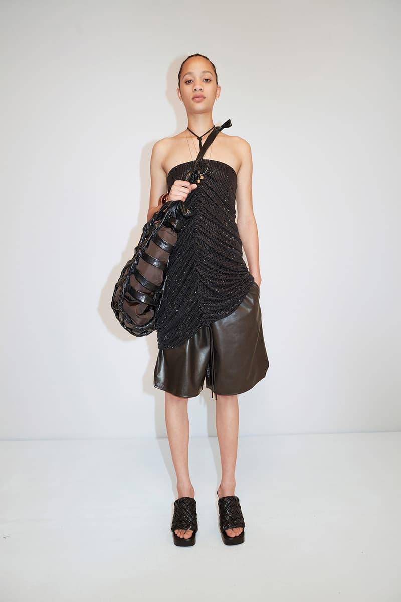Bottega Veneta Pre-Fall 2020 Collection Lookbook Ruched Top Black