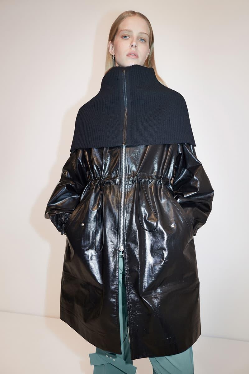 Bottega Veneta Pre-Fall 2020 Collection Lookbook Drawstring Coat Black