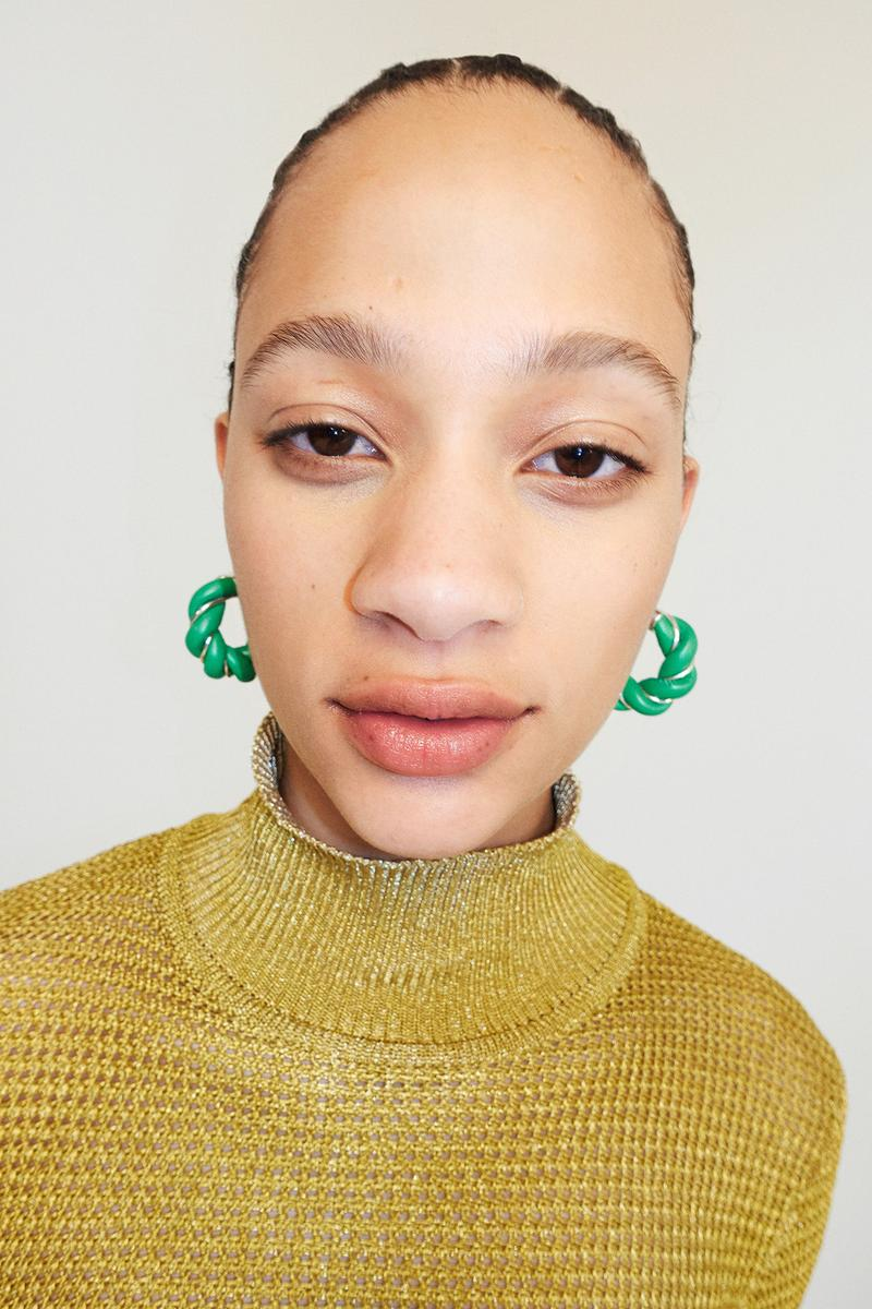 Bottega Veneta Pre-Fall 2020 Collection Lookbook Turtleneck Knit Mustard