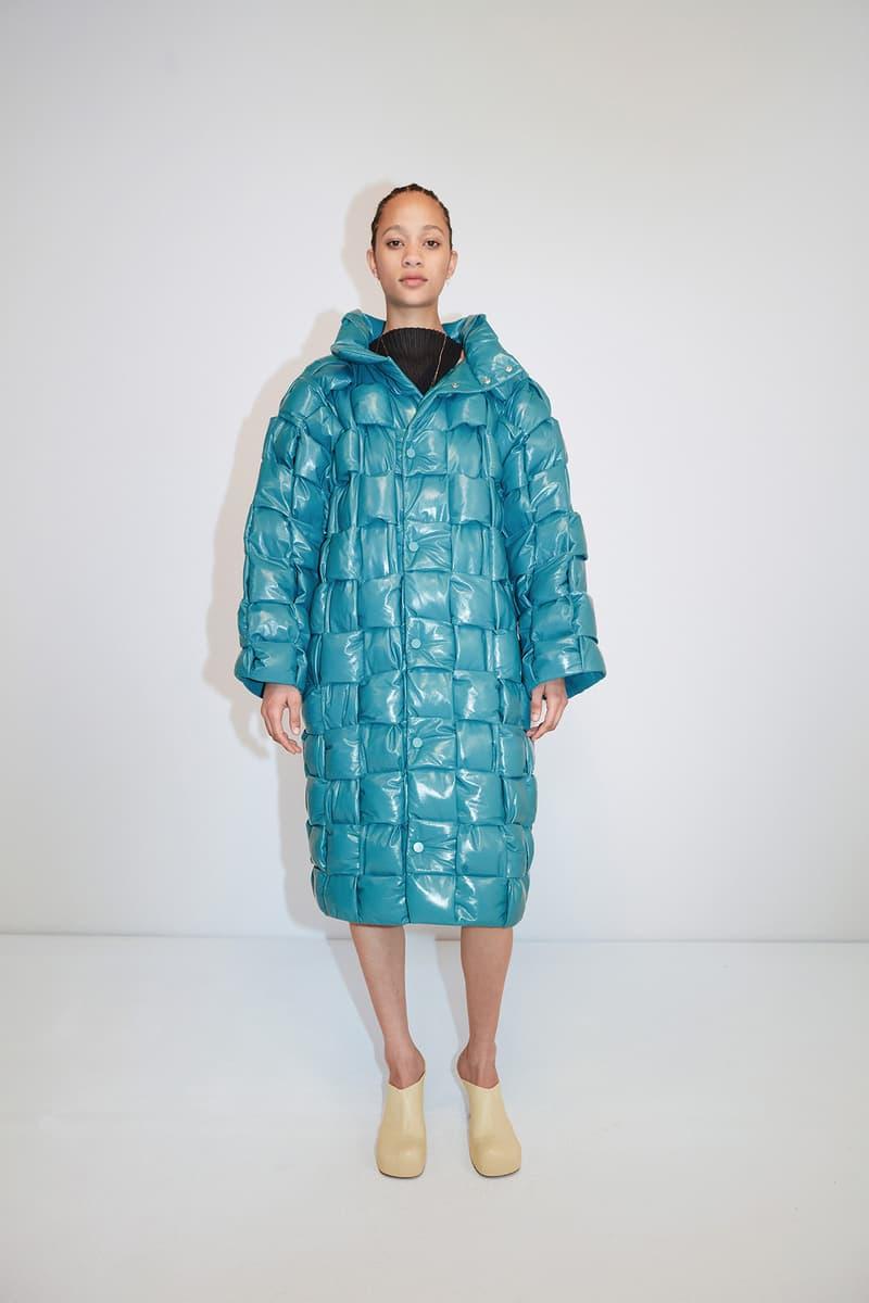 Bottega Veneta Pre-Fall 2020 Collection Lookbook Woven Puffer Intrecciato Blue