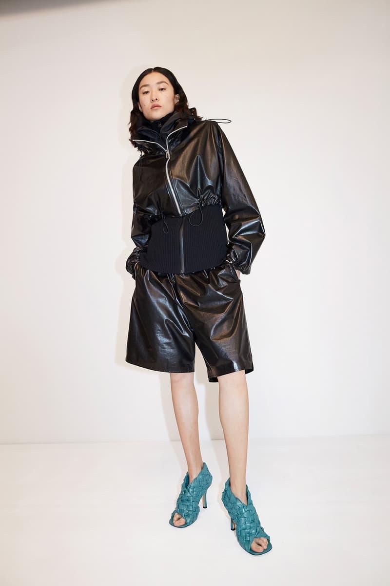 Bottega Veneta Pre-Fall 2020 Collection Lookbook Jacket Shorts Black
