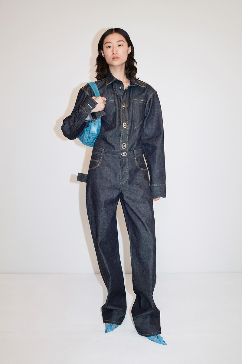 Bottega Veneta Pre-Fall 2020 Collection Lookbook Denim Jumpsuit