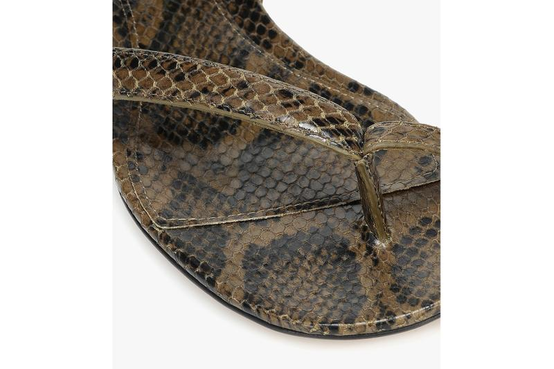 bottega veneta snake effect leather sandals pre spring 2020 daniel lee