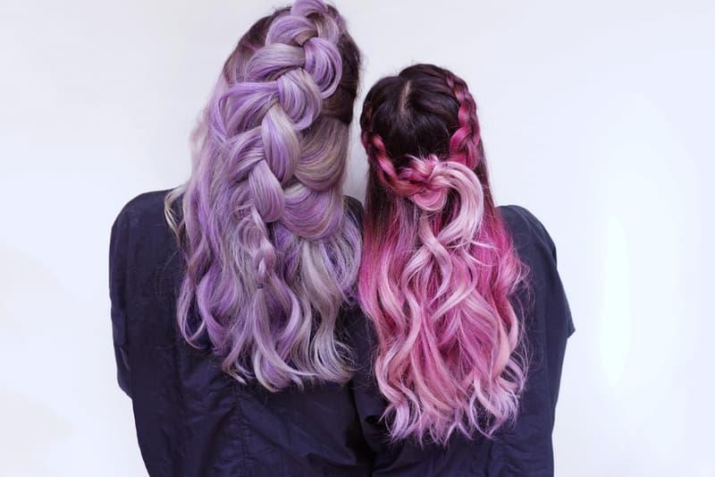 Pastel Dyed Hair Lavender Pink