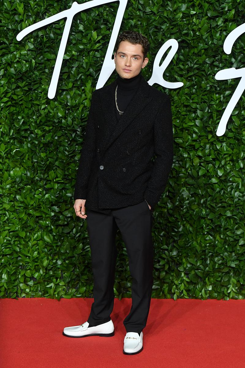 british fashion awards bfas best celebrity red carpet looks raff law