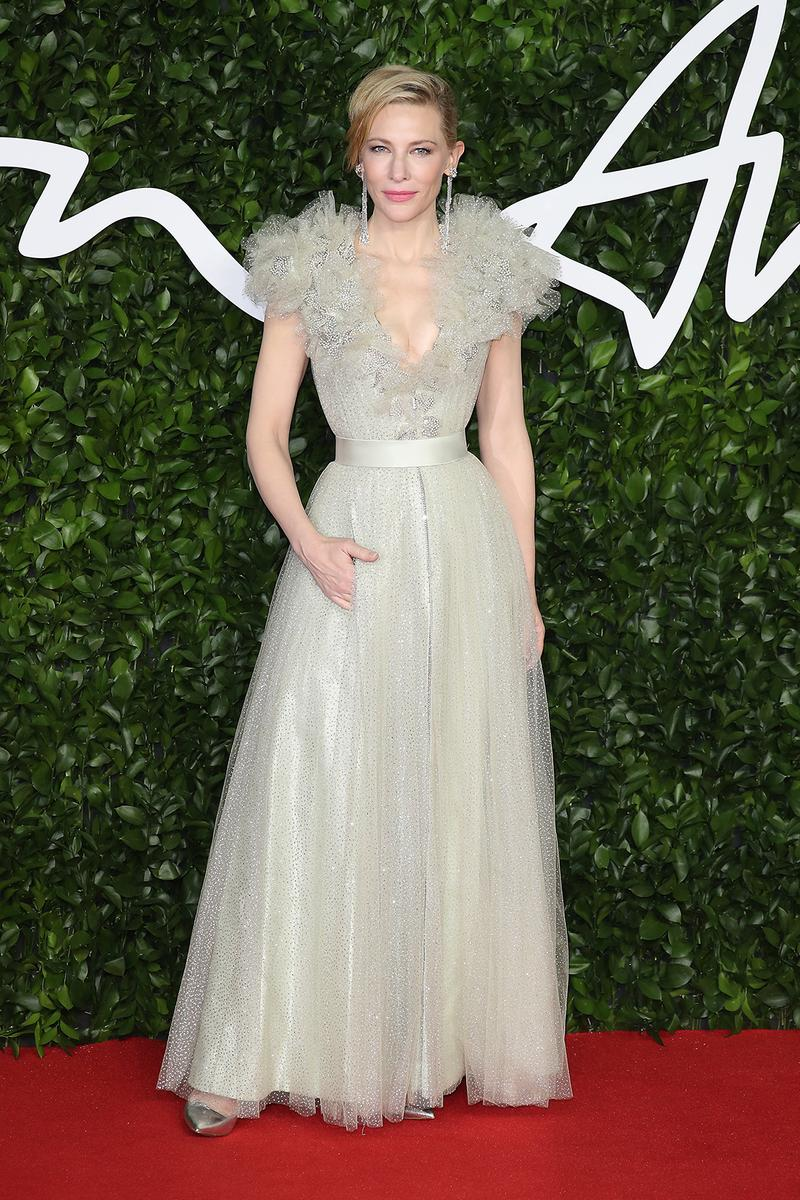 british fashion awards bfas best celebrity red carpet looks cate blanchett