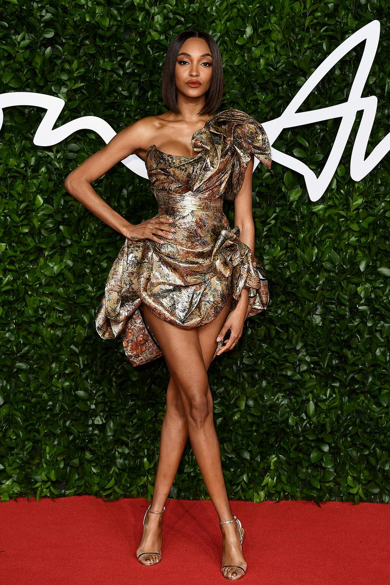 british fashion awards bfas best celebrity red carpet looks
