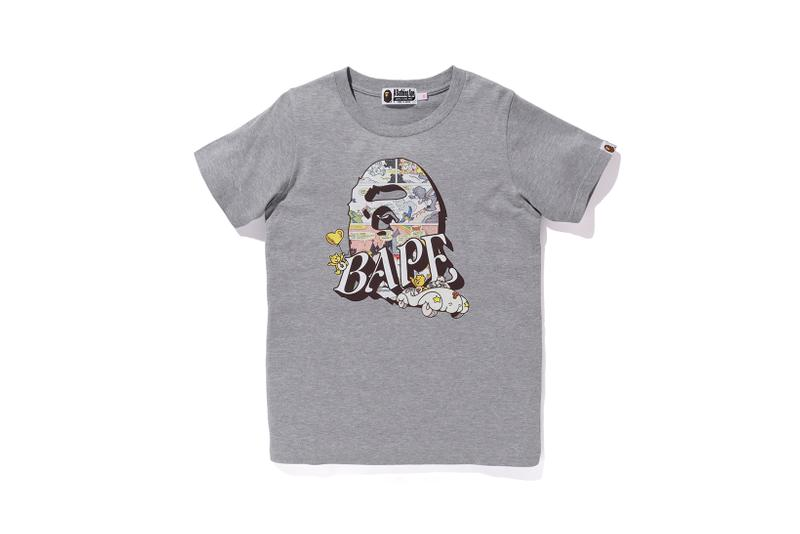 Care Bears x BAPE Collection Logo T-Shirt White