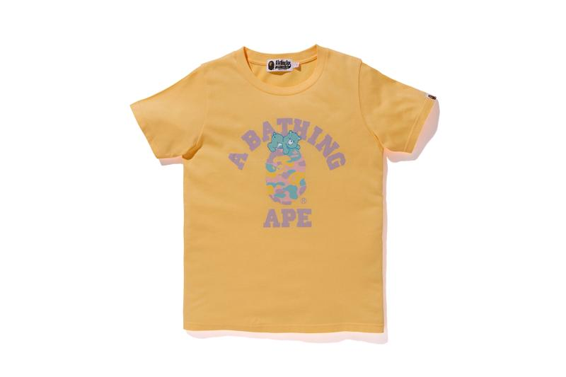 Care Bears x BAPE Collection Logo T-Shirt Yellow