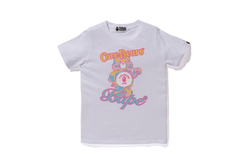Care Bears x BAPE Collection Logo Bear T-Shirt White