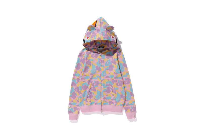 Care Bears x BAPE Collection Hoodie Camo Ears