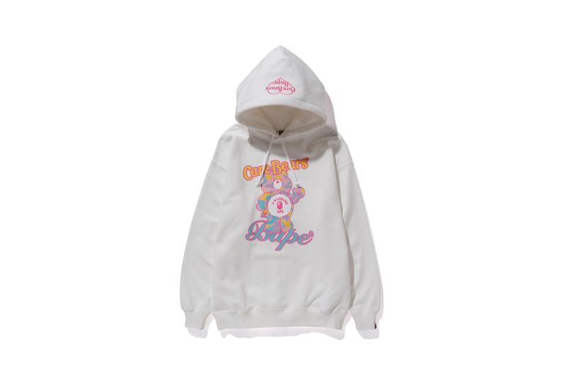 Care Bears x BAPE Collection Hoodie White