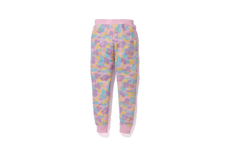 Care Bears x BAPE Collection Sweatpants Camo Pink