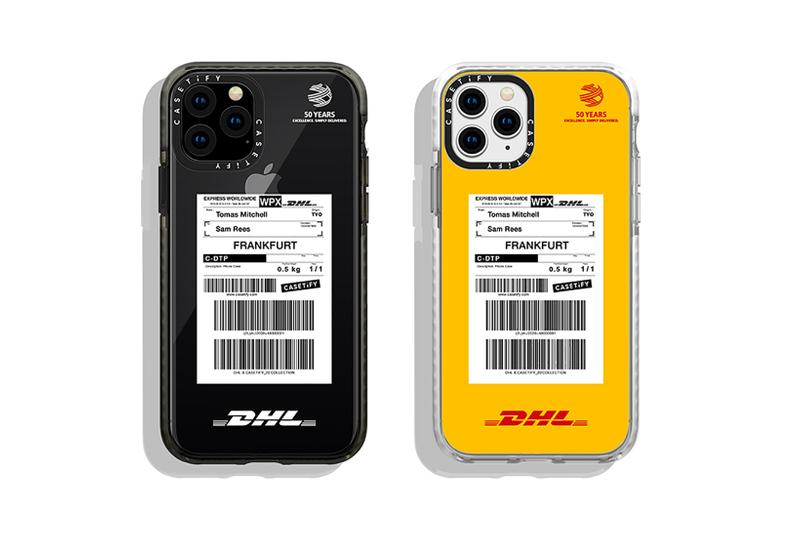 casetify dhl collaboration phone cases apple iphone 11 pro max black white