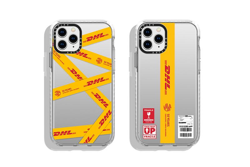 casetify dhl collaboration phone cases apple iphone 11 pro max white