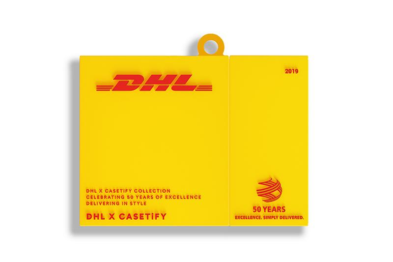 casetify dhl collaboration yellow airpod case