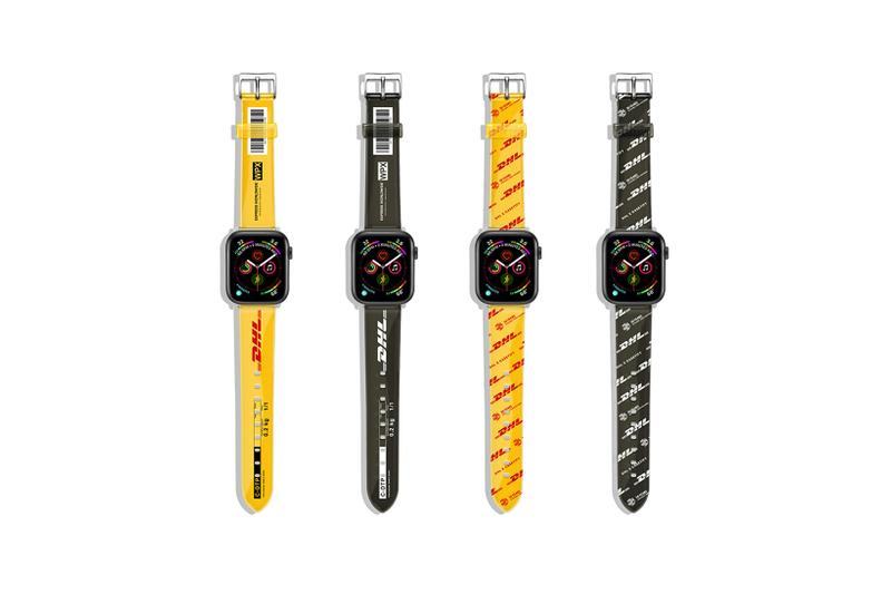 casetify dhl collaboration apple watch black yellow