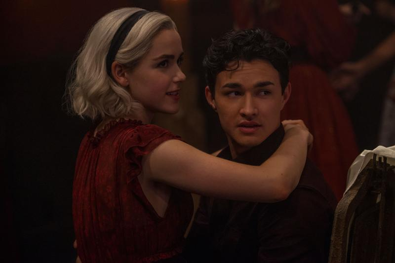 chilling adventures of sabrina netflix season 3 premiere date kiernan shipka gavin leatherwood