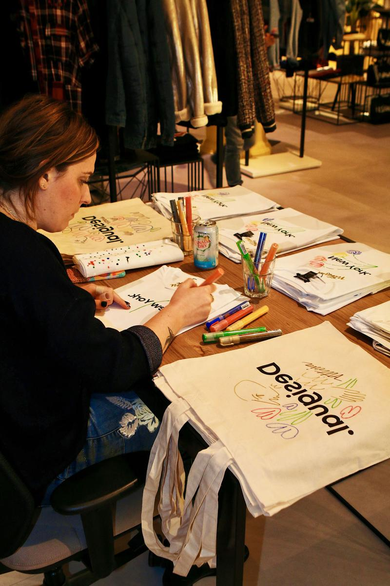 "Desigual ""The Art of Sustainability"" ECOALF Collection New York Pop Up"