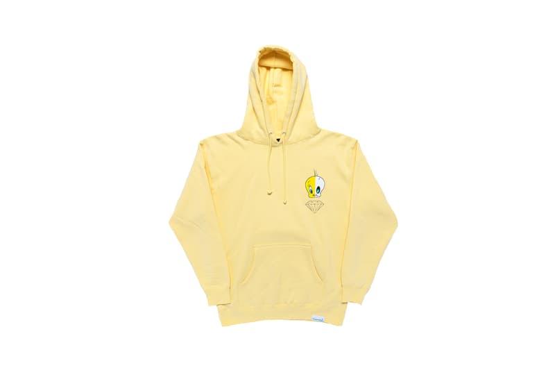 Looney Tunes x Diamond Supply Co. Collection Tweety Bird Hoodie Yellow